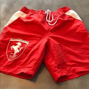 2e5f81a21a26 Puma Ferrari Swim trunks